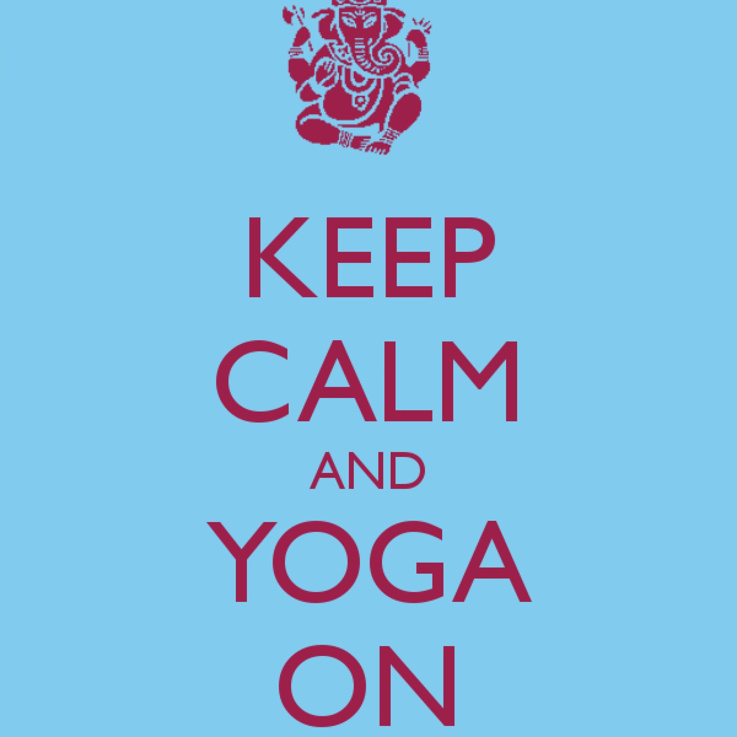 Keep Calm & Sweat OM