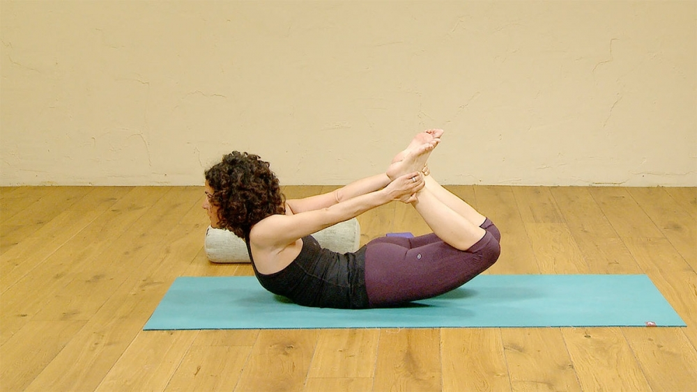 Yoga Class with Backbends (wild thing to wheel) with